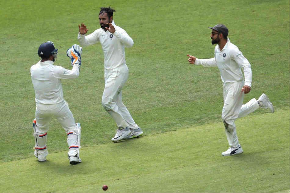India Vs Australia Live Score 2nd Test Day 1 Hanuma Vihari Dismisses Marcus Harris Australia