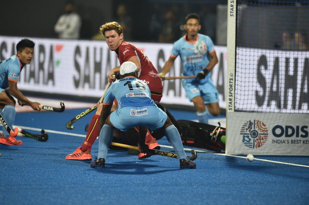 India Vs Belgium India Belgium Play Thrilling 2 2 Draw