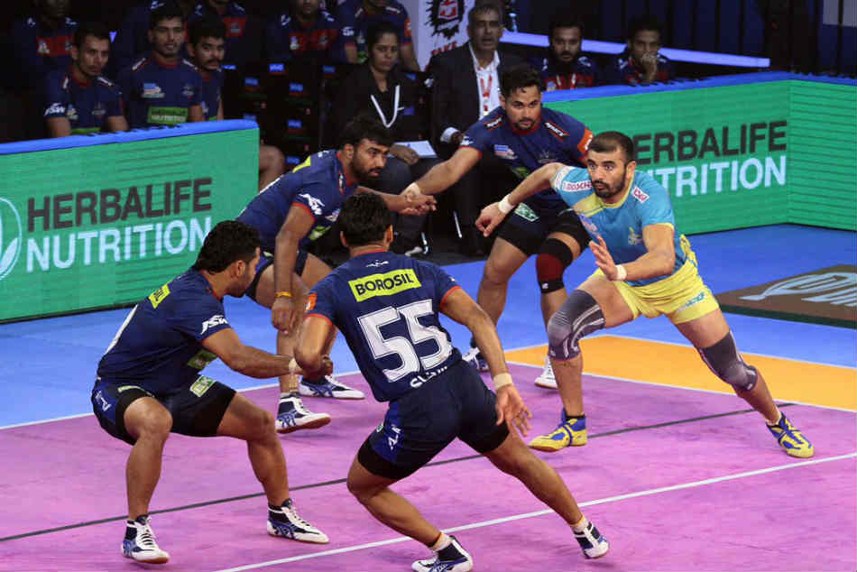 Pro Kabaddi Bengal Warriors Beat Telugu Titans 39