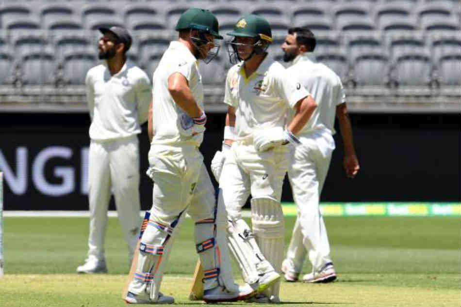 India Vs Australia Live Score 2nd Test Day 1 Aaron Finch Marcus Harris