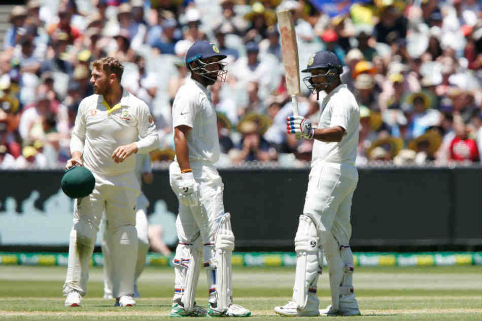 Twitter reacts as Mayank Agarwal scores a fifty on debut in the Boxing Day Test