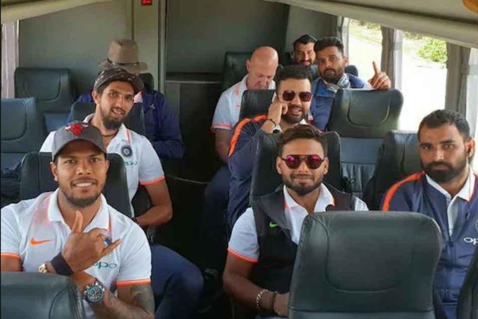 Team India Arrive In Adelaide For Test Series Opener Against Australia