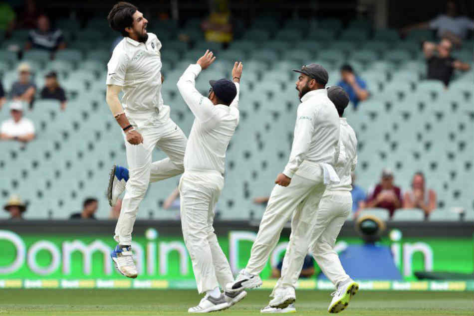 India Vs Australia Live Score 1st Test Day 2 Ishant Finds The Edge From Paine Through To Pant