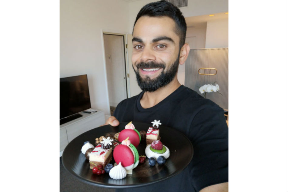 Virat Kohli tweets photo of his Christmas treats, greets fans on eve of Boxing Day Test
