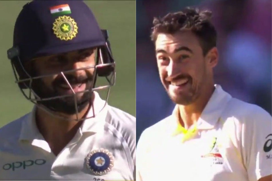 India vs Australia: Mitchell Starc, Virat Kohli share a laugh over 'oops' moment, watch video