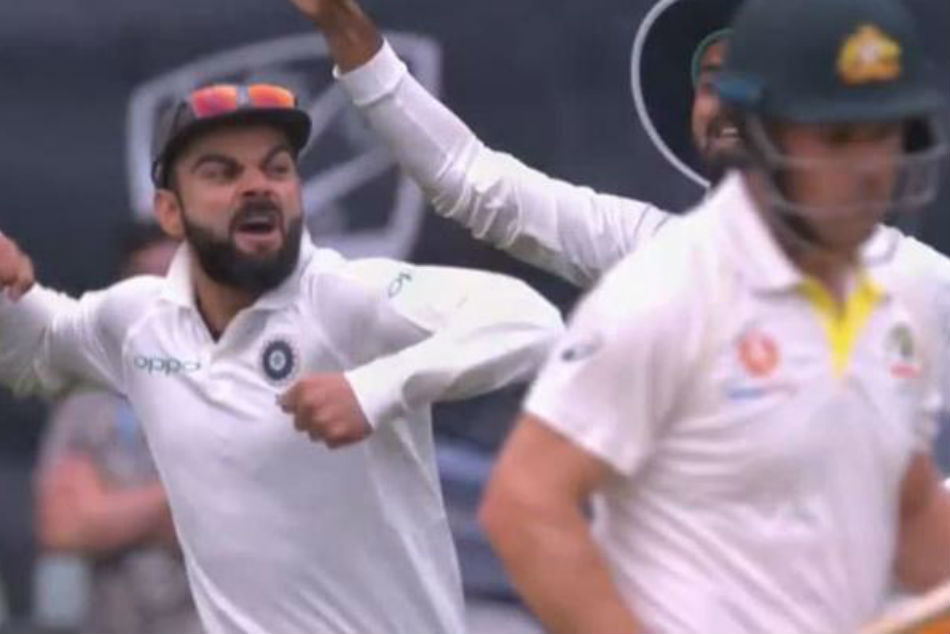 India Vs Australia Virat Kohli Sets Adelaide Alight With Fiery Celebration As Ishant Sharma