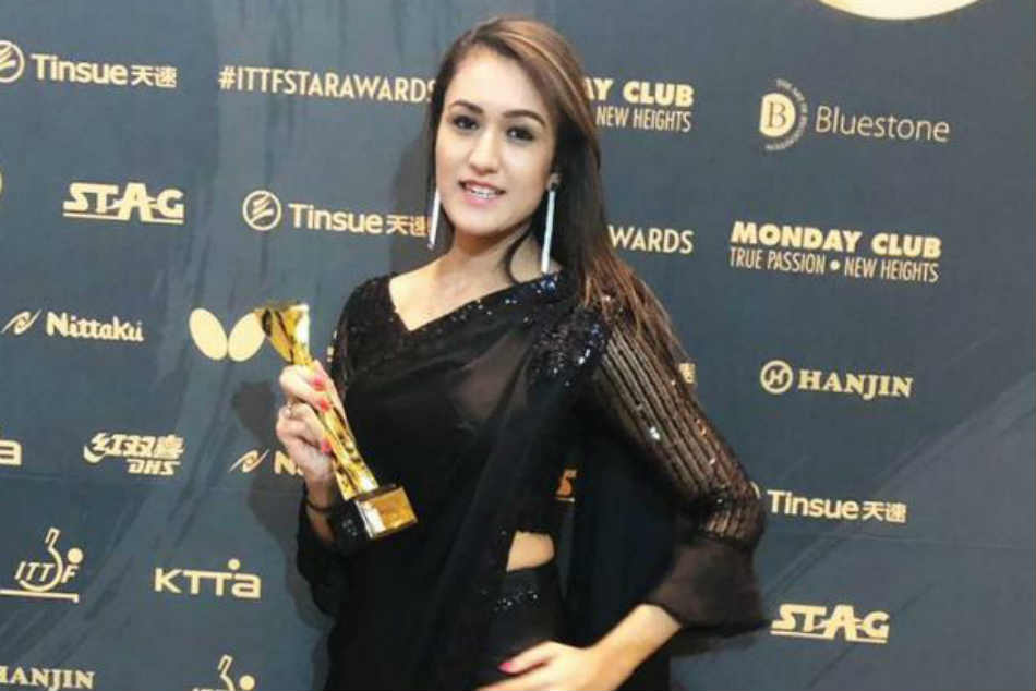 Manika Batra Receives Breakthrough Star Award From International Table Tennifederation