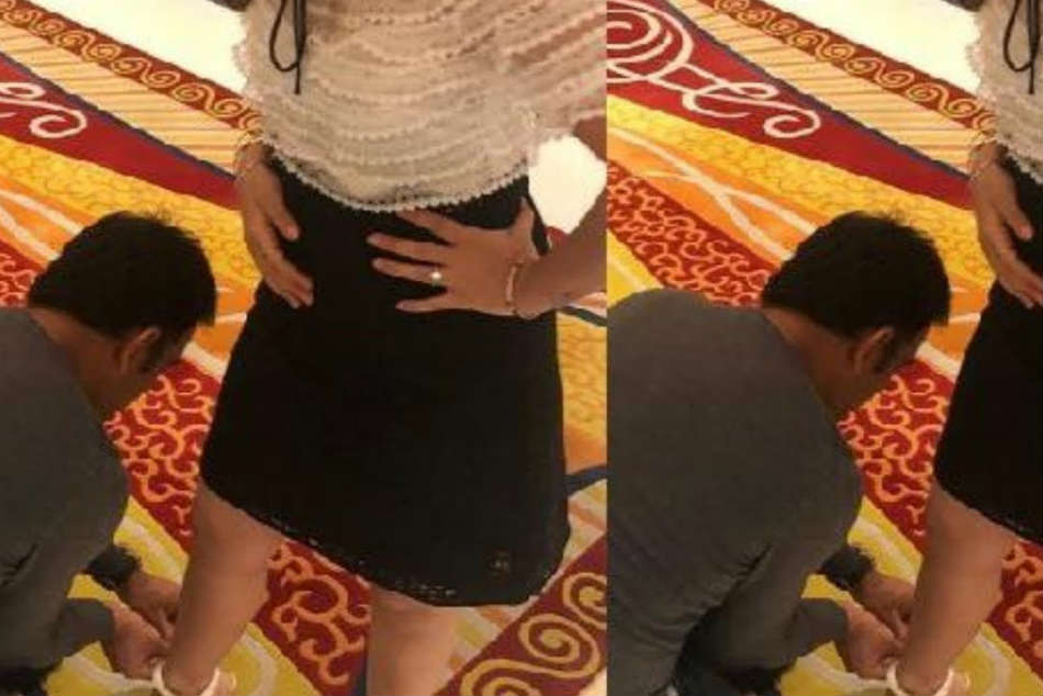 Ms Dhoni Wins Hearts As Former Indian Captain Helps Wife Sakshi Wear Her New Pair Of Shoes