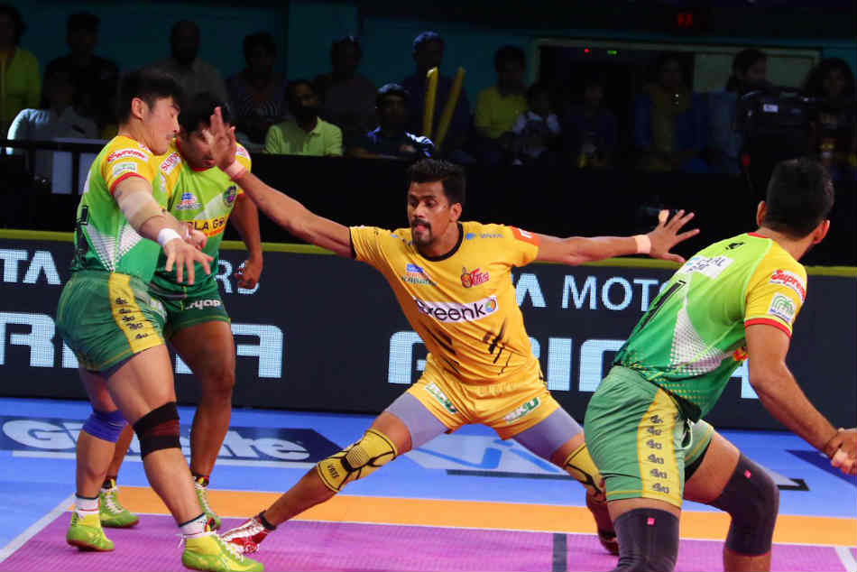 Pro Kabaddi 2018 Telugu Titans Vs Patna Pirates Highlights Telugu Titans
