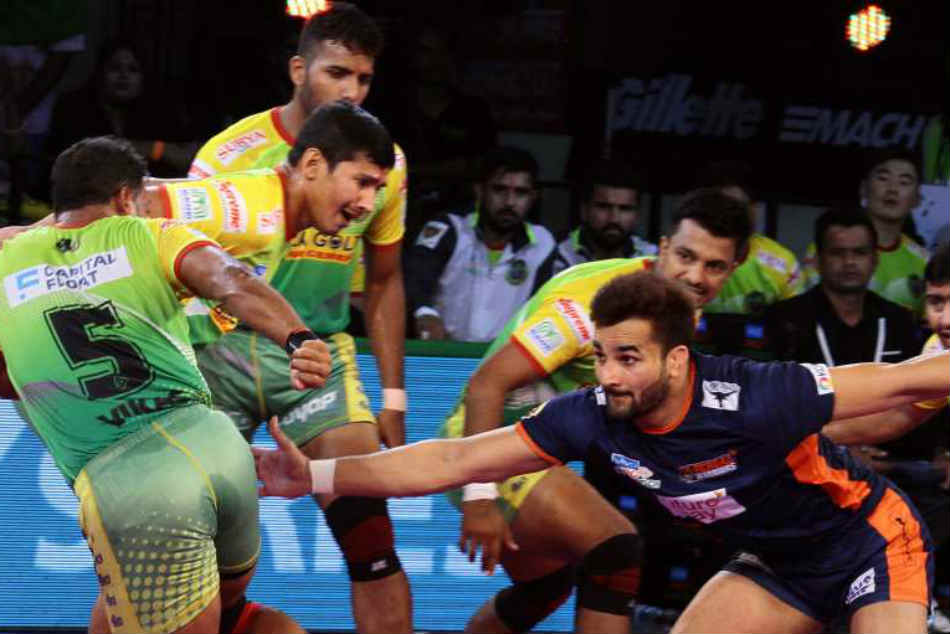 Pro Kabaddi League Pkl 6 Up Yoddha Beat Patna Pirates 47