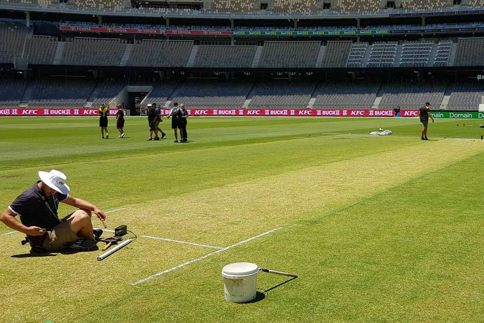 India Vs Australia Michael Vaughan Says Green Top Perth Could Backfire On Australia