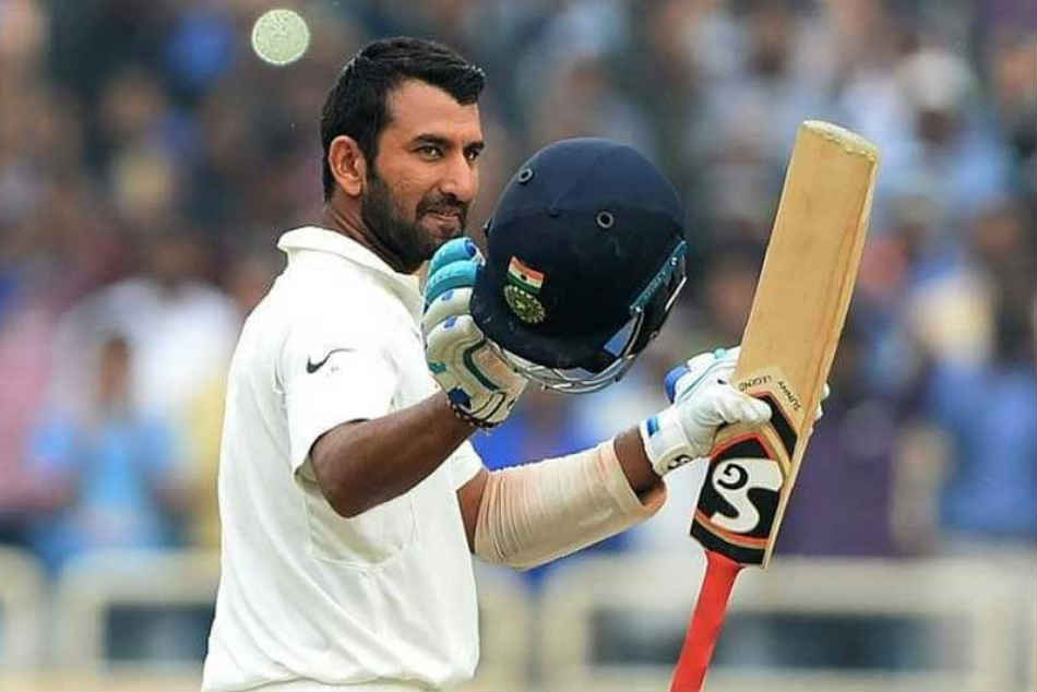 India Vs Australia Live Score 1st Test Day 1 Cheteshwar Pujara 100 Takes India