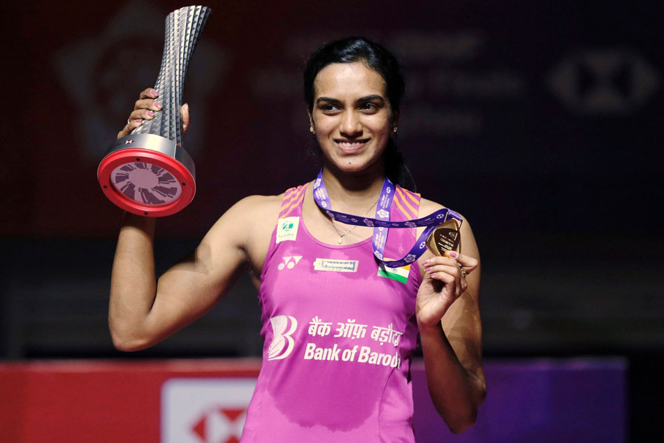 Had tears in my eyes after winning gold at BWF world Tour Finals: PV Sindhu
