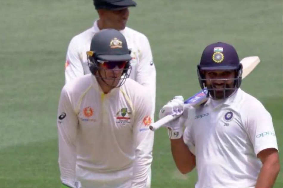Rohit Sharma Exchanges Ipl Banter With Tim Paine Says If He Gets A Ton