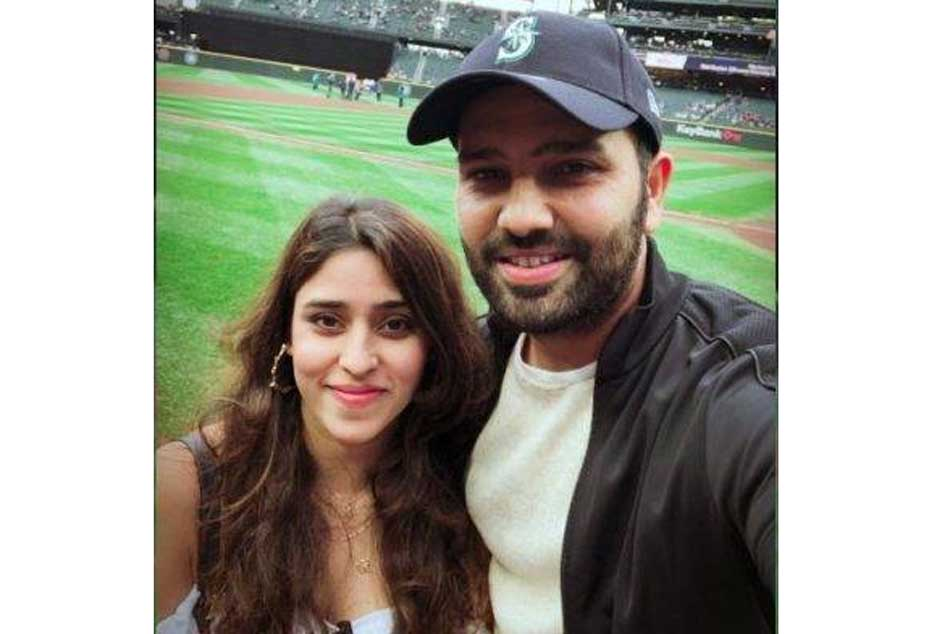 Rohit Sharma in This Instagram Post Reveals He Is Missing His Wife Ritika Sajdeh in Australia