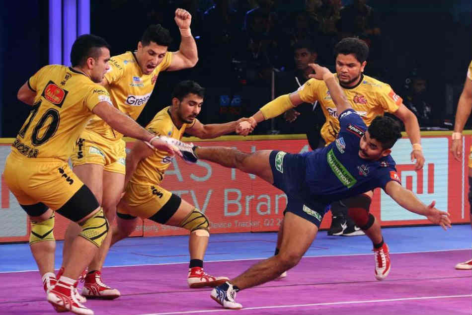 Six Super Tackles Their Defence Help Telugu Titans Clinch Th