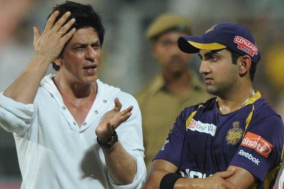 Shah Rukh Khan Has Special Message Former Kkr Skipper Gautam Gambhir