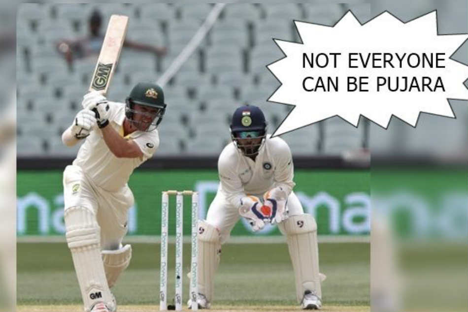Everyone Cannot be Pujara: Pant Sledges Oz Batsman From Behind The Stumps