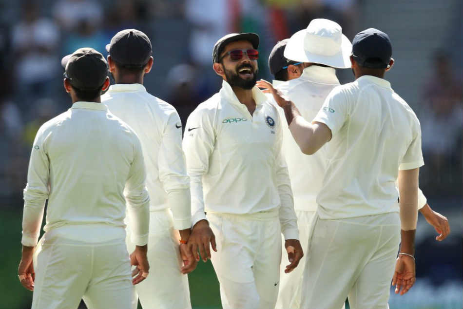 India Vs Australia Highlights 2nd Test Day 1 Australia 277 6 At Stumps On Day 1 In Perth