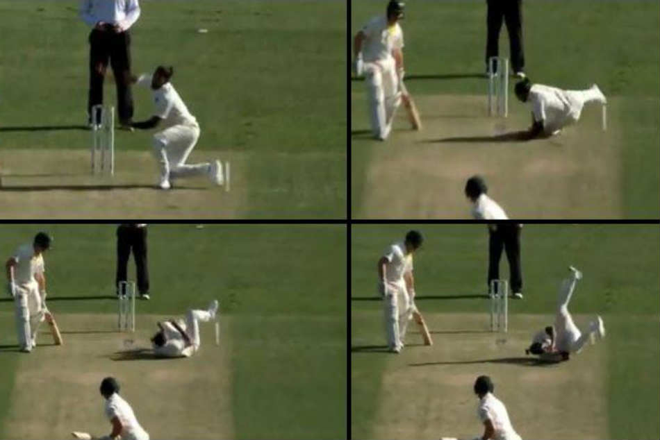 Umesh Has Embarrassing Moment Trying to Bowl His First Ball of Oz Summer