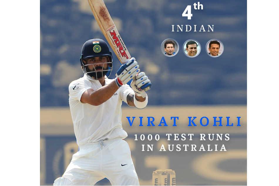 Virat Kohli Joins Sachin Tendulkar Rahul Dravid Vvs Laxman As He Completes 1000 Test Runs
