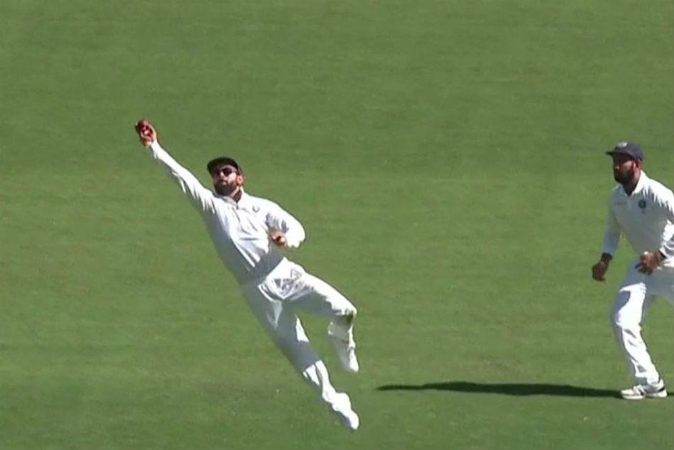 India Vs Australia Live Score 2nd Test Day 1 Handscomb Gone For 7 As Ishant