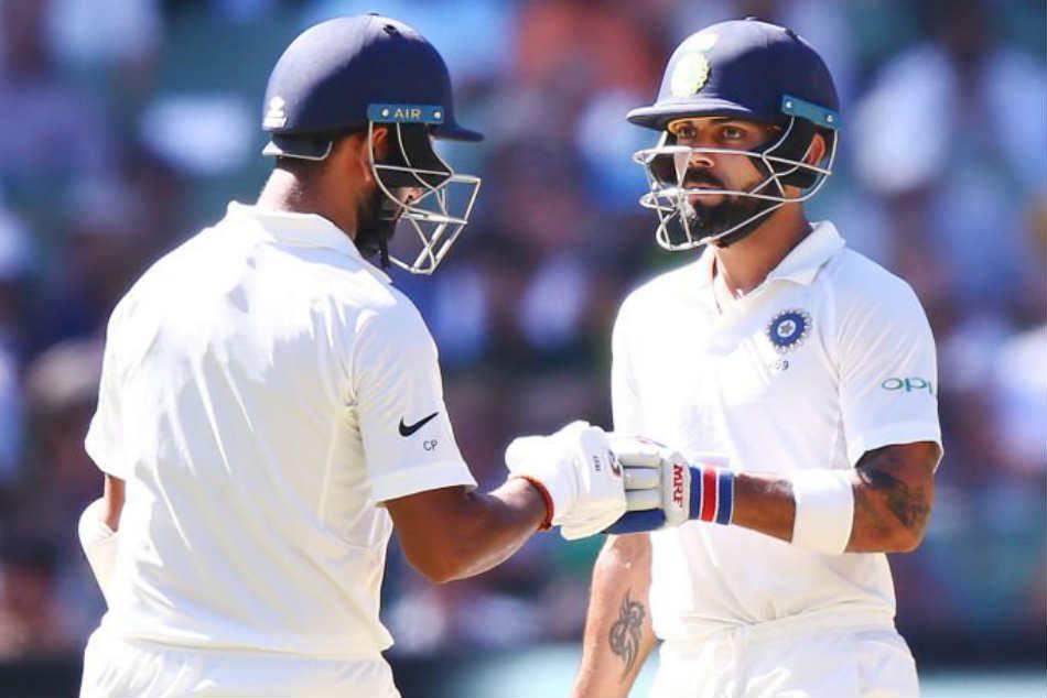 India Vs Australia 3rd Test Day 1 Cheteshwar Pujara Virat Kohli Take India To 215 2 At Stumps Day
