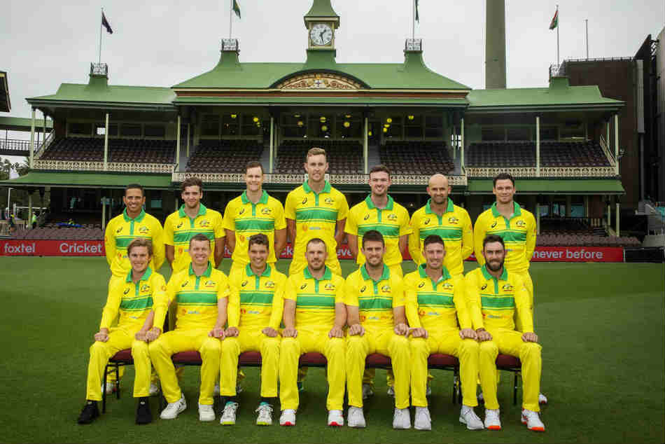 Australia Wear Retro Kit During The Odi Series Against India