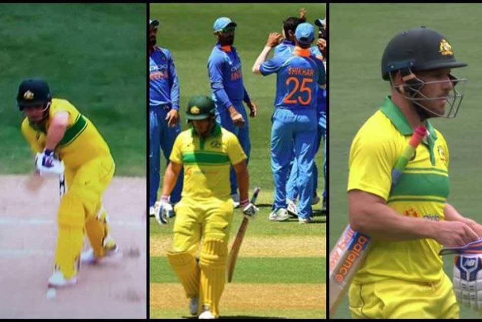 India Vs Australia 3rd Odi Live Updates Bhuvi Gets Aussie Skipper Finch With A Beauty