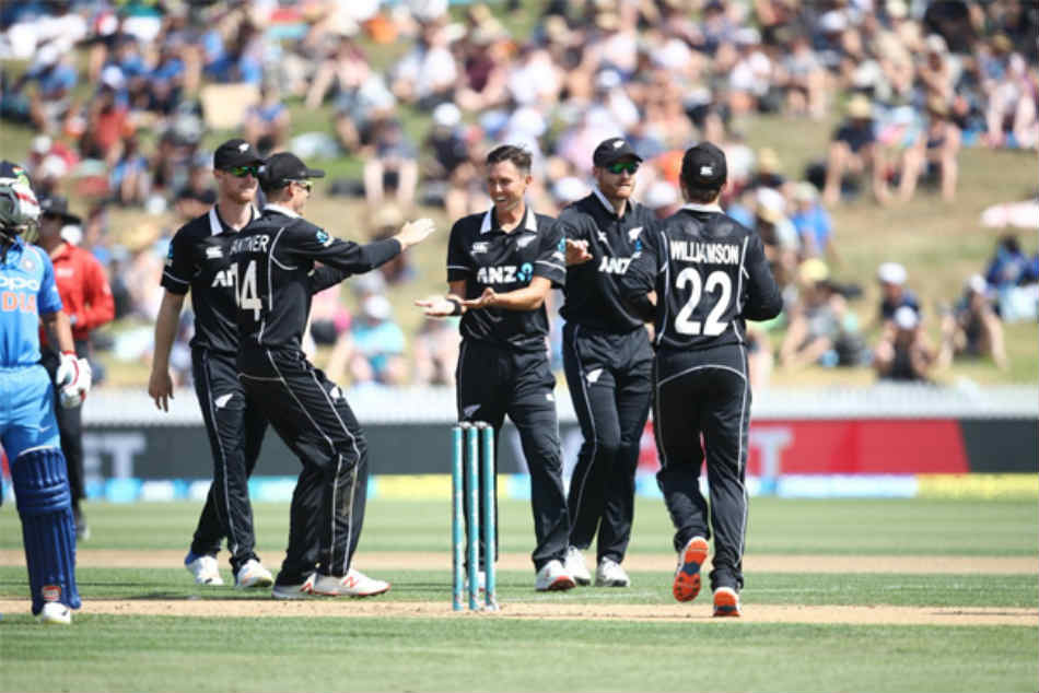 India Vs New Zealand 4th Odi Highlights New Zealand Thrash India By Eight Wickets