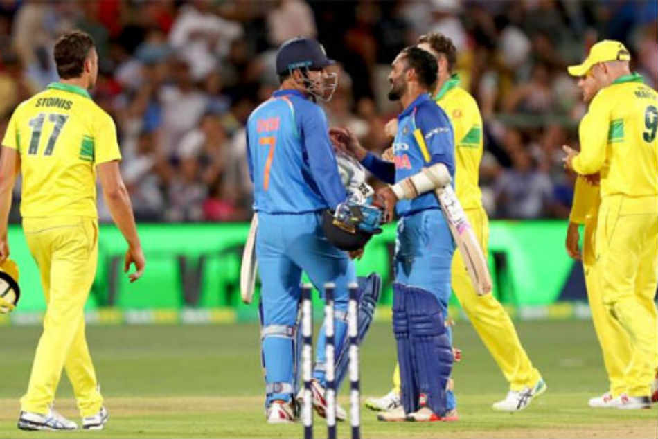 India vs Australia 2nd ODI: Great to watch MS Dhoni finish off innings, says Dinesh Karthik