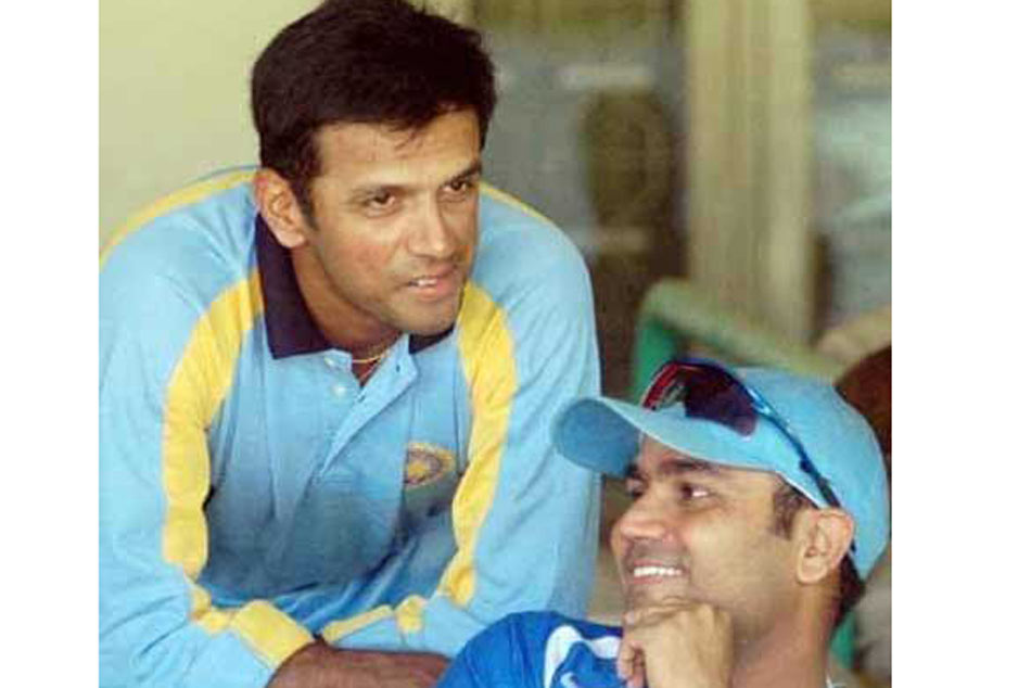 Happy Birthday Rahul Dravid Virender Sehwag S Wish The Wall Is Winning Hearts Online