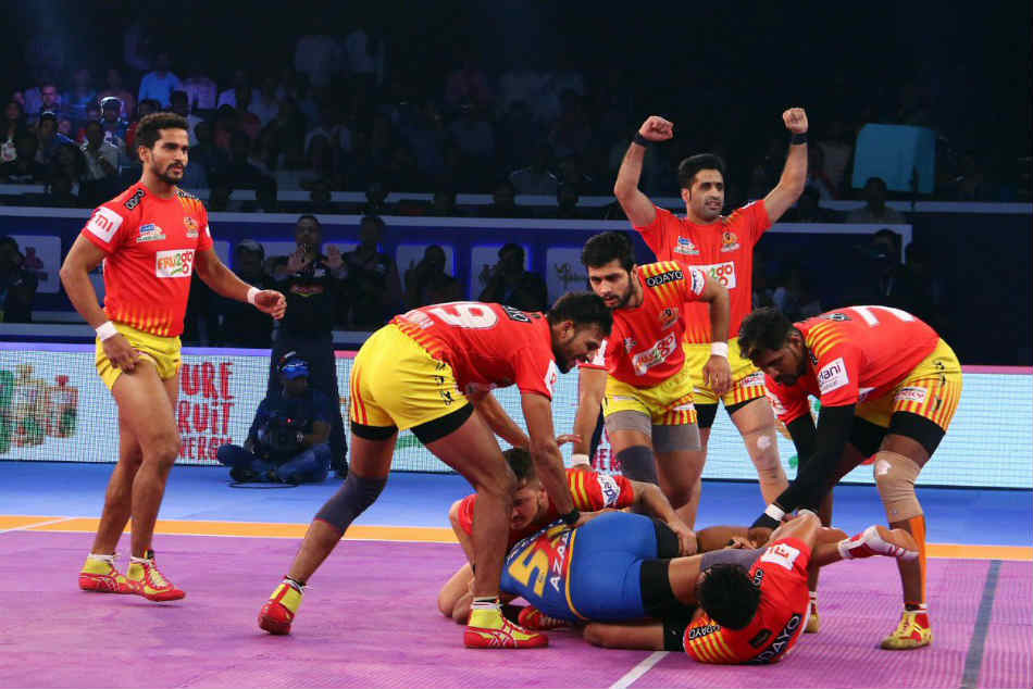 Pro Kabaddi League Qualifier 2 Gujarat Fortunegiants Vs Up Yoddha Gujarat