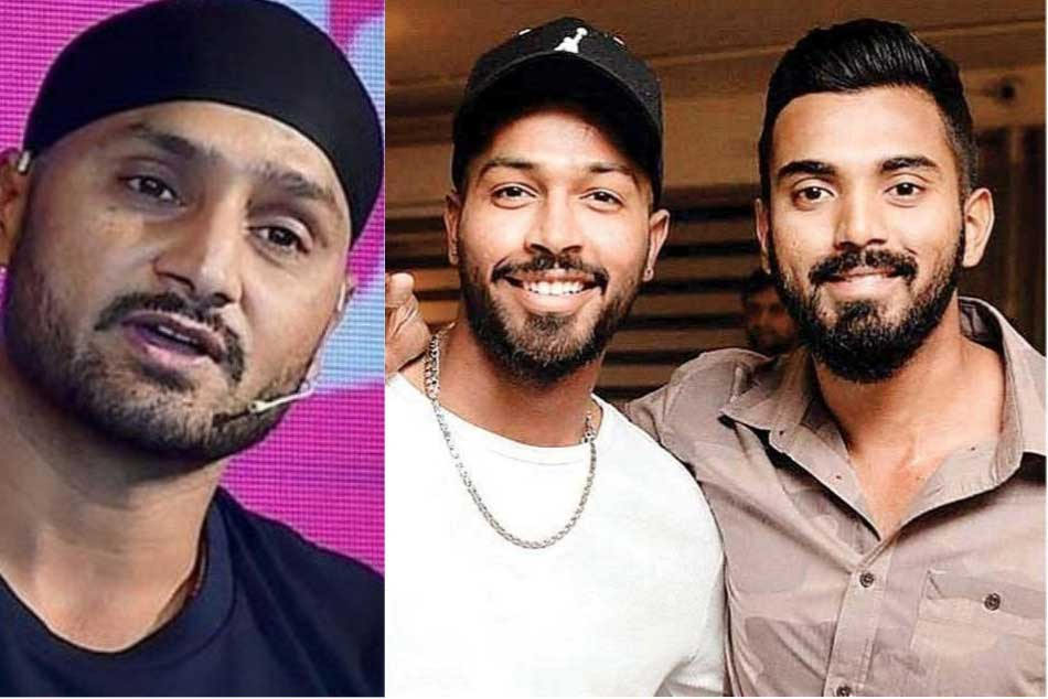 Harbhajan Singh Slams Hardik Pandya Kl Rahul Jeopardising Reputation Of Cricketers
