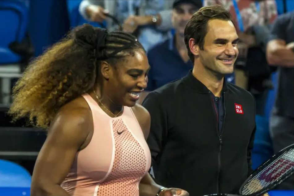 Hopman Cup Roger Federer Emerges Triumphant Historic Meeting With Serena