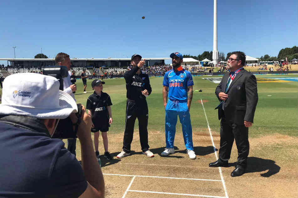India Vs New Zealand Live Score 3rd Odi New Zealand Elect To Bat