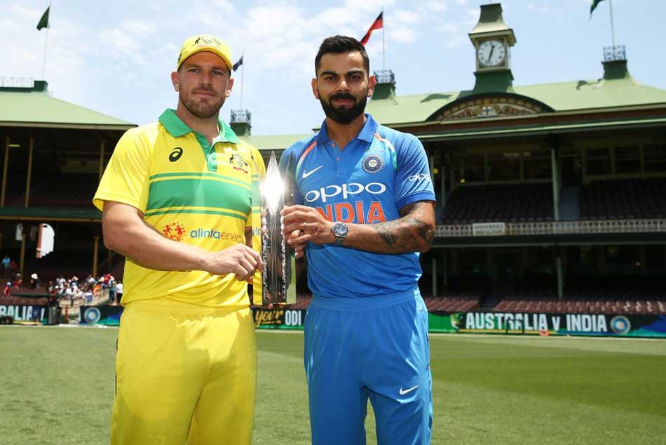India Vs Australia 1st Odi Aaron Finch Elects Bat Against Settled Indian Side
