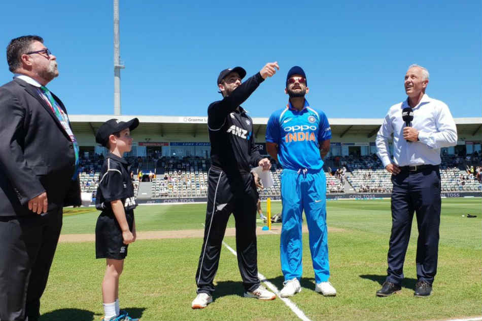 India Vs New Zealand 1st Odi Live Updates Kane Williamson Virat Kohli Napier