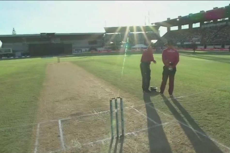 India Vs New Zealand Not Rain Not Bad Light Sun Stops Play In Napier