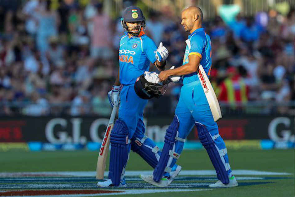 India Vs New Zealand Live Score 1st Odi Sunlight Hampers Batsmans View