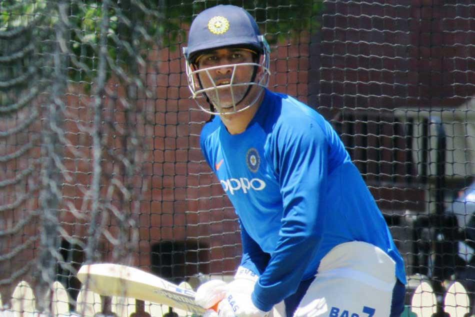 India Vs Australia Focus Shifts Odis As Dhoni Dhawan Rayudu Hit The Nets At Scg