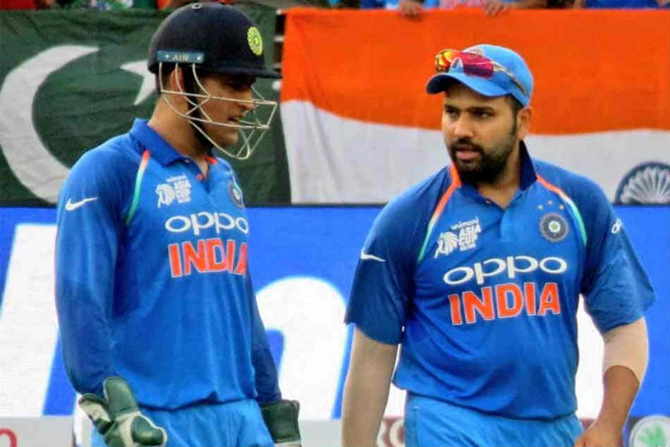 India Vs Australia Ms Dhoni Guiding Light India Says Rohit Sharma