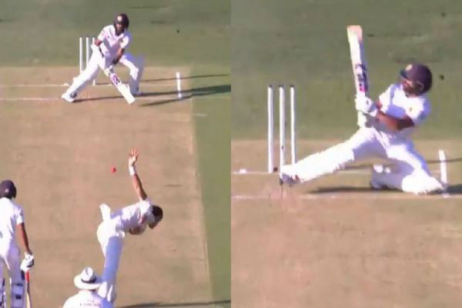 Spectacular scoop! Niroshan Dickwella plays shot of the match during Australia vs Sri Lanka 1st Test - WATCH