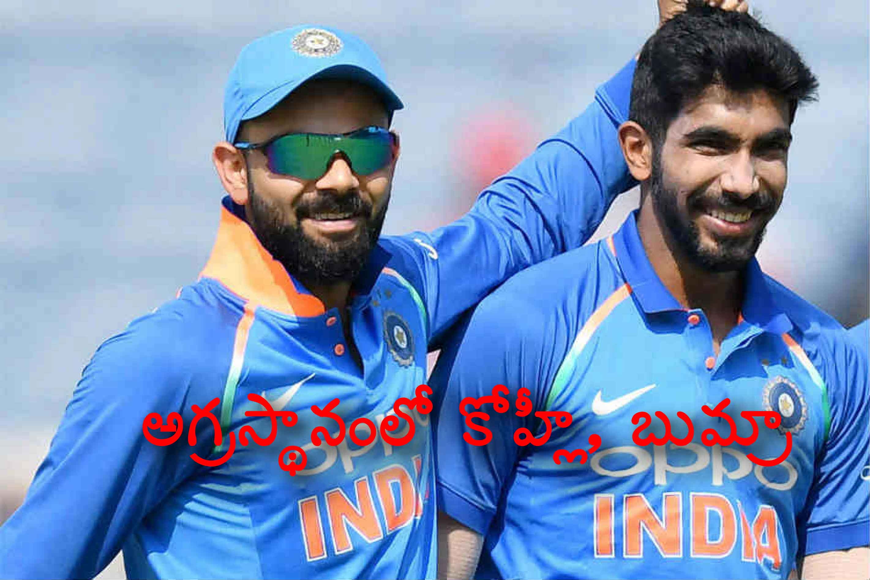 Kohli Bumrah India Headline Icc Odi Rankings