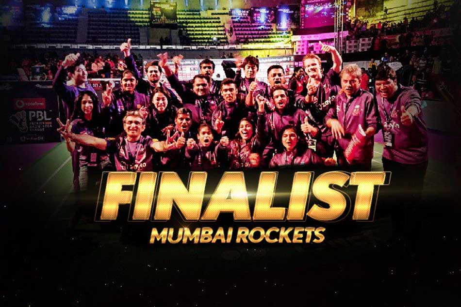 Pbl 2019 Mumbai Rockets Beat Hyderabad Hunters Set Up Bengaluru Raptors Final