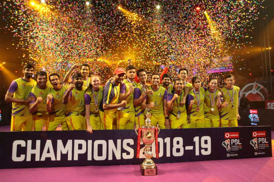 Pbl 2018 Dominant Bengaluru Raptors Beat Spirited Mumbai Rockets To Lift Maiden Title