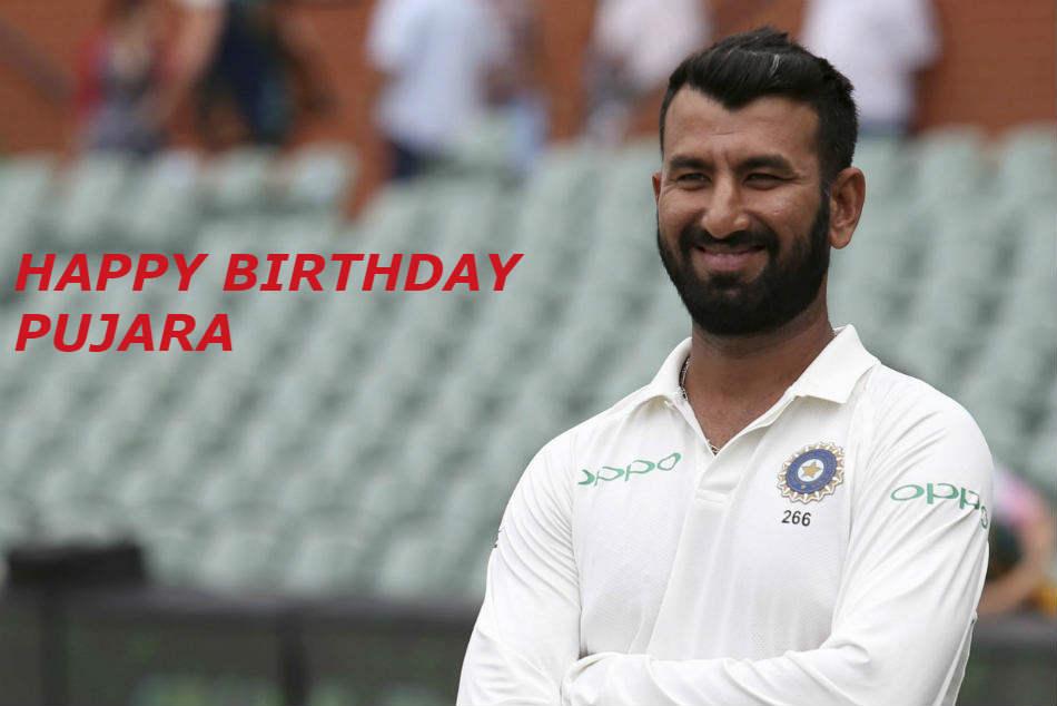 Cheteshwar Pujara Turns 31 Wishes Pour For Master Batsman