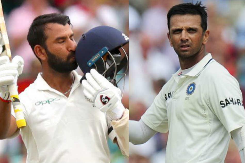 India Vs Australia Cheteshwar Pujara Joins Rahul Dravid Elite After Sydney Test