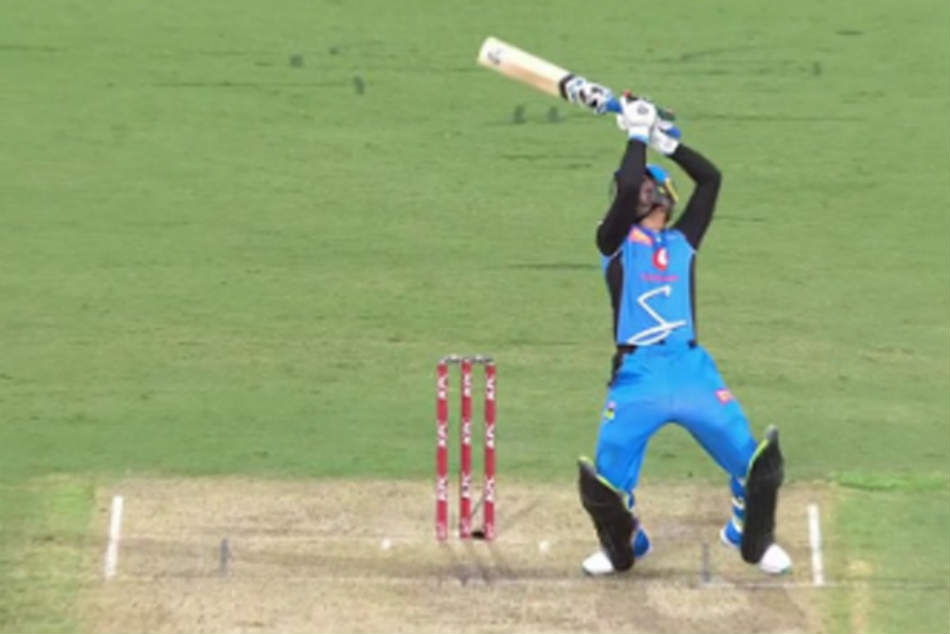 Remember Dhoni S Helicopter Shot This Young Cricketer Has Aced It
