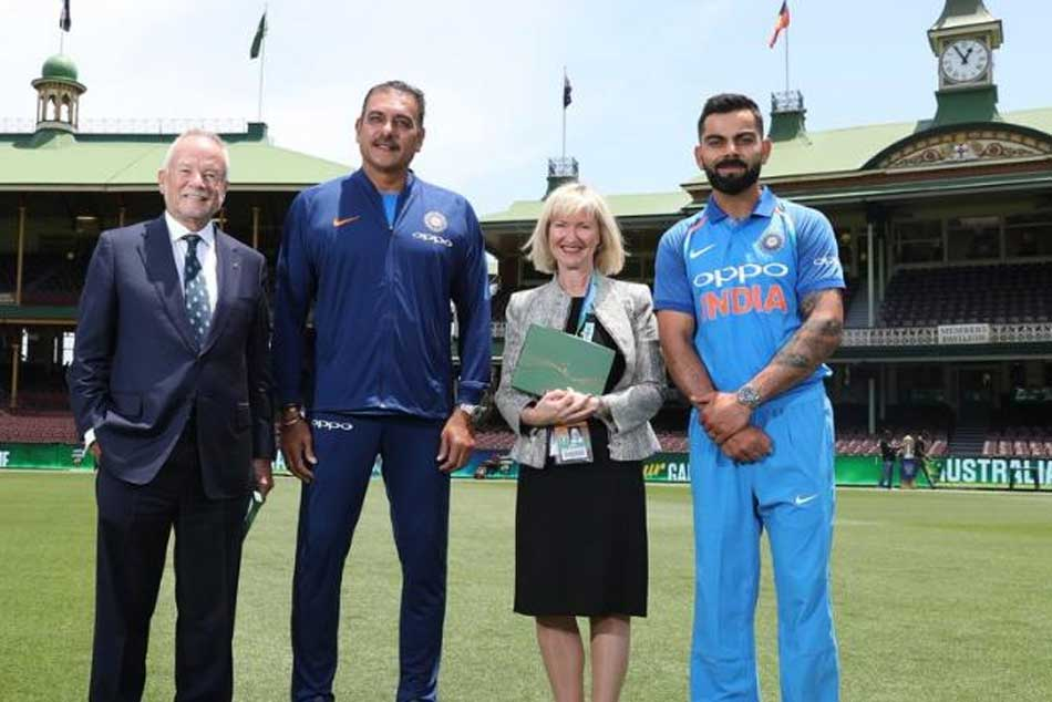 Virat Kohli Ravi Shastri Get Honorary Membership Sydney Cricket Ground
